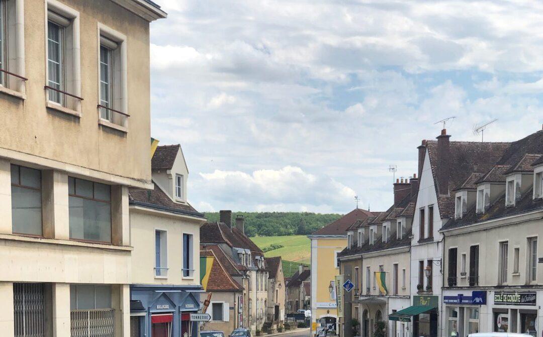 Traveling through Vineyards of Eastern France